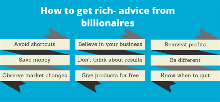 How To Get Rich Advise From Billonaires (2)