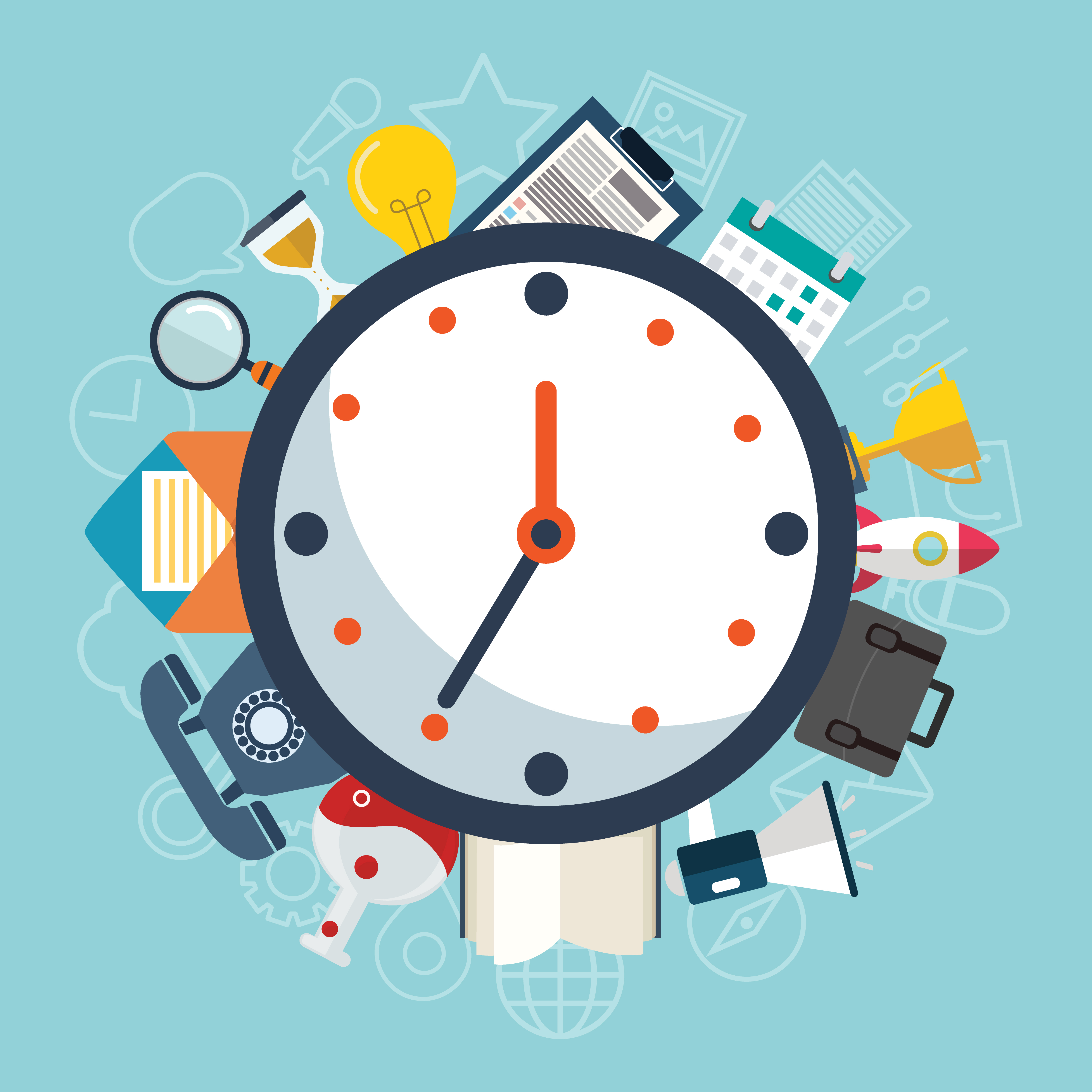 boost your productivity  keep track of your time when you